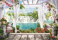 Панно Фреска - кафель в ванную,  плитка 20х30см.