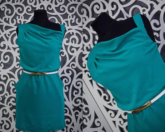 """Легкое и нежное женское платье  """"шифон""""  42 размер норма, фото 2"""