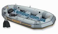 Надувная лодка INTEX четырехместная (328 СМ Х 128 СМ Х 48СМ)