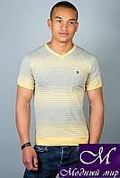Мужская футболка в полоску (р. 46-52) арт. 304