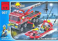 """Конструктор Brick 907 """"Пожарная охрана"""" 420 деталей"""