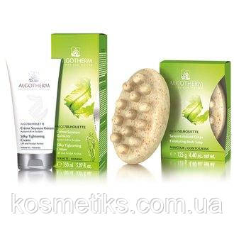 Набор от целлюлита Algotherm (cr/150 ml + soap/125 g)
