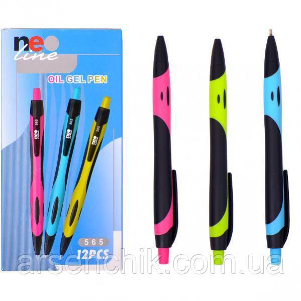 """Ручка гелевая 565 """"Neo Line"""" JOYKO синяя"""