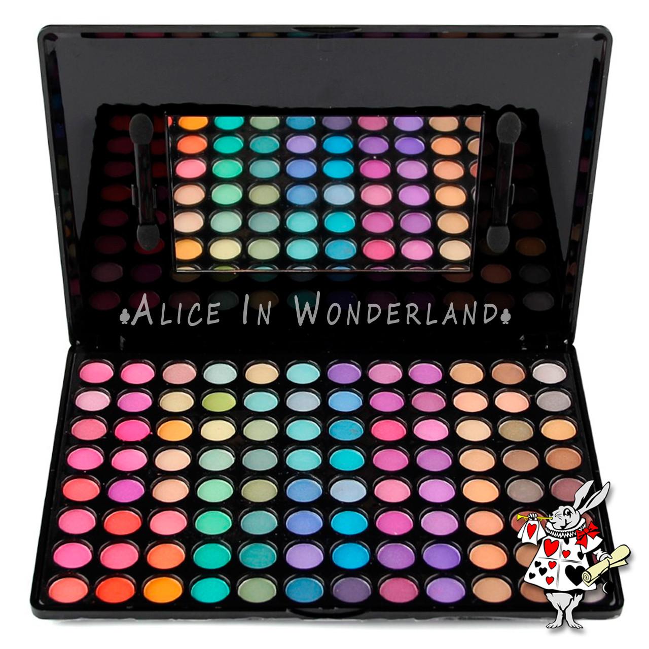 Палитра теней для макияжа 95 цветов MAC Cosmetics палетка теней 96 оттенков реплика