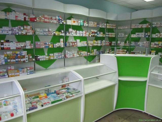 Прилавки для аптеки