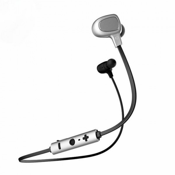 Наушники Baseus B15 Seal Bluetooth Earphone Silver/Black