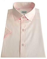Мужская рубашка с коротким рукавом  №10-16 - 40-100 V22, фото 1