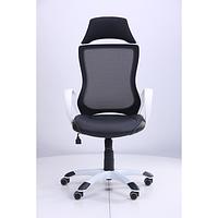 Кресло Viper белый, сиденье Неаполь N-20/спинка Сетка черная (AMF-ТМ)