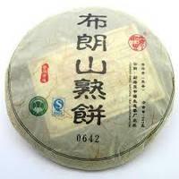 Чай китайский элитный шу пуэр Органик сбор 2010 г. 310-357 гр (блин)
