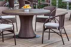 Столы из искусственного ротанга
