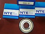 Радиально-упорный подшипник 6303 ZZ, NTE(Словакия), фото 2