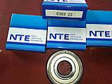 Радиально-упорный подшипник 6303 ZZ, NTE(Словакия), фото 3