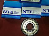 Радиально-упорный подшипник 6303 ZZ, NTE(Словакия), фото 6