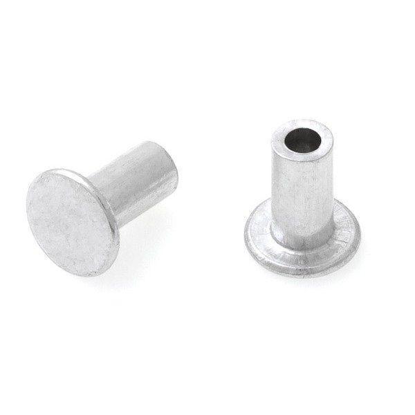 Заклепка h = 10 мм, Ø=5 мм для крепления скоб