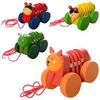 Деревянная игрушка Каталка MD 1032