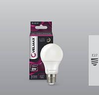 Лампа светодиодная LED Velmax E27 V-A60 8W 4100K