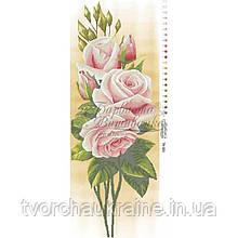 Бисерная заготовка для вышивки схемы-картины Нежные розы