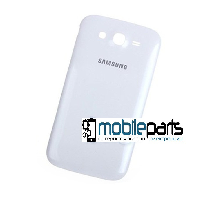 Задняя панель корпуса (крышка) для Samsung Galaxy Grand Duos i9082 (Качество ААА) (Белая)