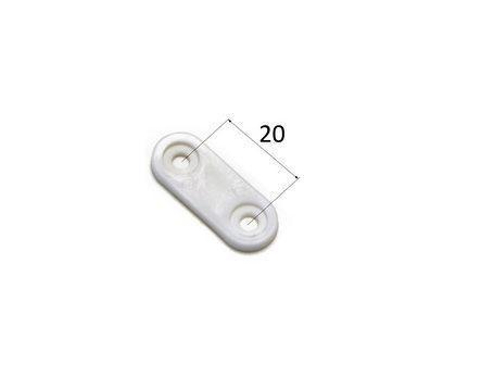 Подкладка пластиковая 20 мм под держатель колец