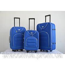 Чемодан Bonro Lux набор 3 штуки sky blue S