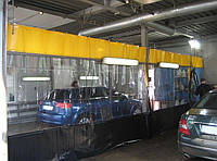Штора ПВХ для автомойки из водо- морозостойкой ткани ПВХ (Бельгия)