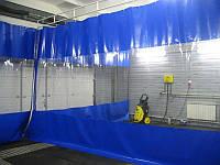 Штора ПВХ для автомойки из водо- морозостойкой ткани ПВХ (Германия)