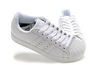Adidas Superstar All White. Стильные кроссовки. Интернет магазин кроссовок. Спортивная обувь