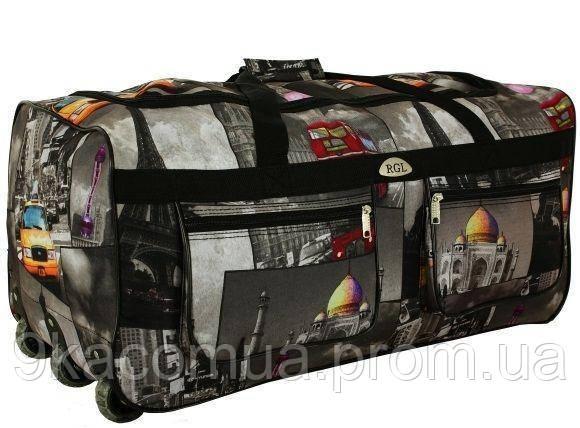 Дорожная сумка на колесах RGL A2 110 л S - Интернет-магазин Девяточка в Киеве