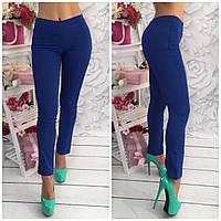 Однотонные женские штаны