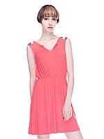 Платье коралловое XS,S,M,L,XL размр.