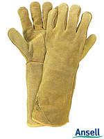 Перчатка кожаные длинные Ansell (краги) RAWORKG43-216 Y
