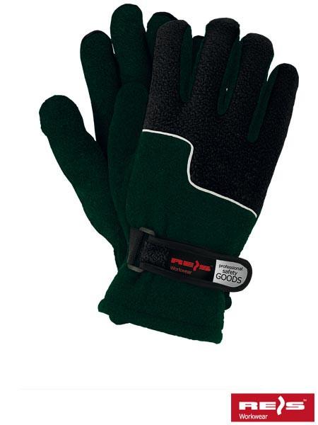 Перчатки защитные, утепленные, изготовленные из флиса RPOLTRIP ZB