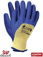 Защитные перчатки, с покрытием, линия перчаток DRAGON RBLUEGRIP YN
