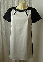 Платье модное мини River Island р.48 7573а