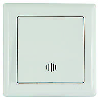 Выключатель одноклавишный с подсветкой (12/120шт) Mutlusan