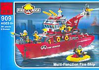 Конструктор Пожарная тревога 361 деталь Brick 909