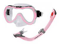 Набор для плавания детский маска + трубка AquaSpeed
