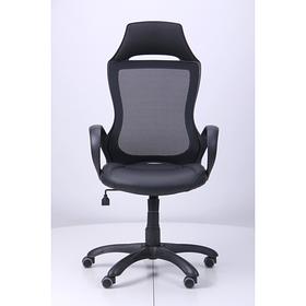 Кресло Viper черный, сиденье Неаполь N-20/спинка Сетка черная (AMF-ТМ)
