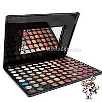 Палитра теней матовые Mac Cosmetics 88 цветов матовые тени палетка теней 88 оттенков