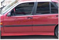 Накладки на пороги под покраску на Fiat Tempra 1991-1999