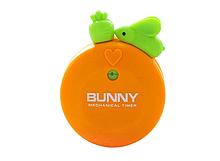 Таймер механический «Кролик с морковкой» оранжевый