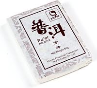 """Чай китайский элитный шу пуэр """"8012"""" сбор 2008 г 40-50 гр (кирпич)"""