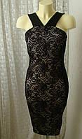 Платье модное нарядное кружево миди Nikka р.46 7574а