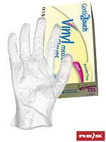 Виниловые перчатки - без слоя пудра RVIN-BEZP T