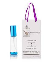 Парфюм-спрей в подарочной упаковке Molecule 01 Escentric Molecules для мужчин и женщин,35 мл