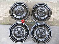 Диск колёсный стальной R -15 б.у., , Citroen Nemo, Peugeot Bipper, Fiat Fiorino 2008-