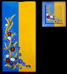 """Керамический дизайн-обогреватель UDEN-S """"Украина"""" (диптих), фото 2"""