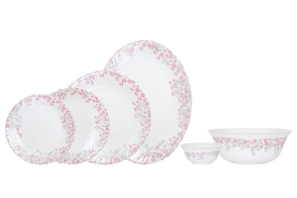 Florinia Pink&Grey Сервиз столовый - 26 пр. Arcopal N1081
