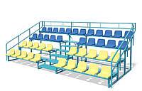 Трибуна на 42 места без накрытия, модульная, сборно-разборная.(без сидений))