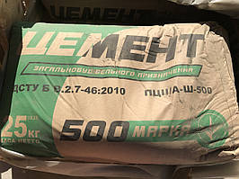 Цемент Полимин ПЦ II/Б-З-500, 25 кг (меш.)